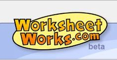 WorksheetWorks - Worksheet Generator Website including worksheet generators for Vocabulary Flashcards (including Dolsch Sight words),  Parts of Speech, Sentence Usage and more - - Pinned by #PediaStaff.  Visit http://ht.ly/63sNt for all our pediatric therapy pins