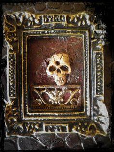 Nuestras MiniaturaS: Cuadro gótico