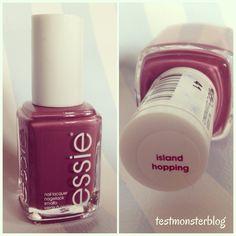 #loveessie #essie #islandhopping #testmonsterblog
