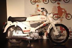 Honda Cub, with Rally kit