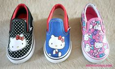 for some reason i am obsessed with Hello Kitty.  and i can get these cute shoes in June!  SWEET!!!