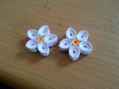 White Earrings Ranjitha 9743033975