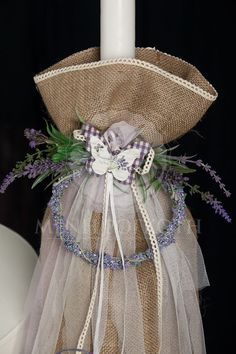 σχεδια για λαμπαδες βαπτισης γαμου του 1999 - Google Search Burlap Candles, Baptism Candle, Christening Party, Easter Crafts, Happy Day, Event Decor, Wedding Favors, Diy And Crafts, Flower Girl Dresses