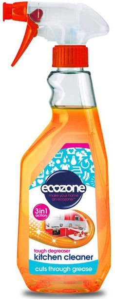 kitchen degreaser wooden table sets earth friendly products orange mate 500mluk ecozone 3 in 1 cleaner and