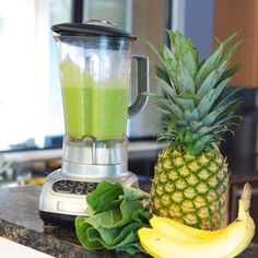 Recipe:  Green Piña Colada Smoothie  — Recipes from The Kitchn