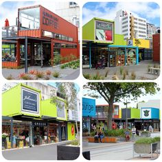 The Container Mall... | The new (temporary) city mall in Chr… | Flickr