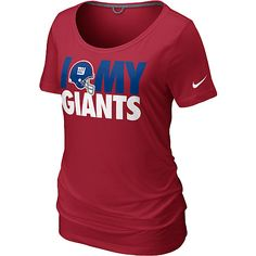 Nike New York Giants Women s Team Dedication Tri-blend T-Shirt New York  Giants ef6772cd1