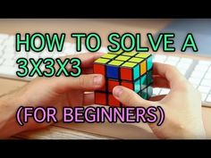 How to Solve a Rubik's Cube: Easiest Tutorial (High Quality)