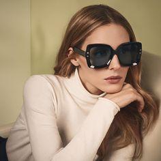 Olivia Palermo in Max & Co. Sunglasses #sunglasses #shades #fashion #streetstyle #bloggers #models #topmodels #gafas #gafasdesol #lunettesdesoleil #occhialidasole