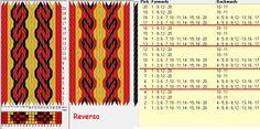 20 tarjetas, 4 colores, repite cada 4 movimientos // sed_965a diseñado en GTT༺❁