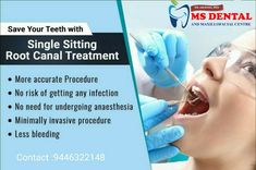 Painless Root Canal Treatment and Therapy in Bangalore for Tooth Infection Treatment in Karnataka, India at Bluetooth Dental Clinic. Severely damaged tooth or abscess tooth treatment. Implant Dentistry, Cosmetic Dentistry, Dental Implants, Oral Maxillofacial, Dental Hospital, Root Canal Treatment, Dental Cosmetics, Best Dentist, Orthodontics