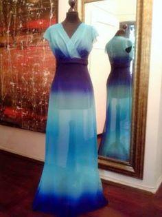 Ewa Krajewska- fashion designer & seamstress: Efekt Ombre