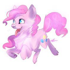 wolf Pinkie pie by *Affanita on deviantART