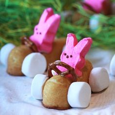 Bunny Racers - Pretzel Recipes curated by SavingStar. Save money on your groceries with eCoupons at savingstar.com