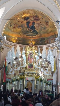 Iglesia en Quillacollo - Virgen de Urkupina.