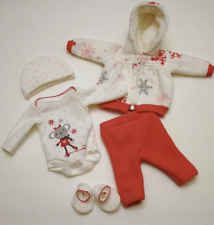 "OOAK Baby Doll Clothes Bodysuit Coat Tiny Miracle Mini Reborn Micro Preemie 10"""
