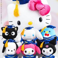 plush toy melody Cinnamoroll little twin star doctorial hat doll graduation gift