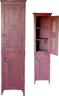 The Collection of 1600 Woodworking Plans - Chimney Cupboard Plans Free - WoodWorking Projects Plans Get A Lifetime Of Project Ideas and Inspiration! Primitive Cabinets, Primitive Furniture, Country Furniture, Woodworking Furniture Plans, Cool Woodworking Projects, Fine Woodworking, Woodworking Logo, Woodworking Garage, Youtube Woodworking