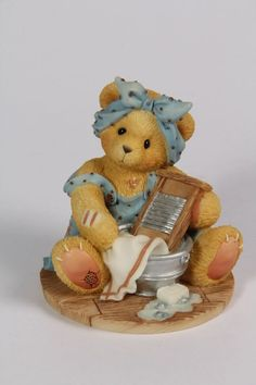 Cherished Teddies-Jane #203424 I'm all washed up without you Cherished reward pc