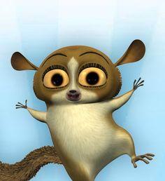 Cartoon Animal With Big Eyes
