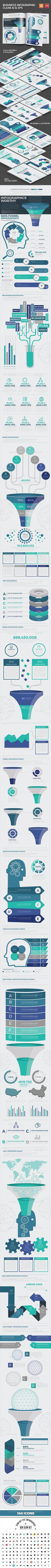 Blue Analysis Infographics Design By Mamanamsai DesignFiles AI 2 Files For Illustrator CS EPS