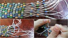 make cuff bracelets with beads