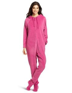 Casual Moments Women's One Piece Footed Pajama « Clothing Impulse