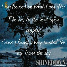 Fly from the inside,   Shinedown