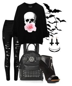 """My Dark Heart Desires"" by wolfiexo ❤ liked on Polyvore featuring Chicnova Fashion, L.A.M.B. and Charlotte Russe"