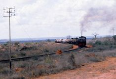 East African Railways & Harbours Kampala to Mombasa