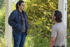 "Tara Chambler and Rick Grimes in Alexandria ■ Season 7 Episode 12 ● ""Say Yes"" 