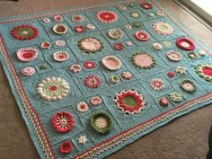 Garden State Afghan CAL – Week Eight May 21, 2016Garden State CAL Garden State Afghan  by Julie Yeager Designs  Final Week – Join and Border