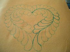 Quilting Tutorials: Free Motion Quilting - feathers