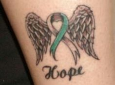 My cancer ribbon