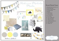 site with great nursery inspiration boards
