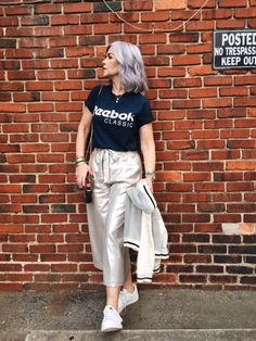 Culottes are Cool — THE SILVER STYLIST