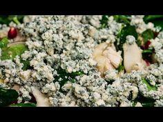 Salată de pere, avocado, nuci și piept de curcan - YouTube Feta, Avocado, Dairy, Cheese, Youtube, Youtubers