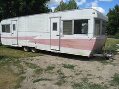 retro travel trailers | Vintage 1959 Kenskill Park/Travel Trailer, Model 29 in RVs & Campers ...