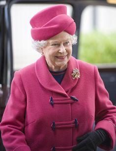 Queen Elizabeth II Photos - The Queen And Duke of Edinburgh Visit Fulton Umbrellas - Zimbio