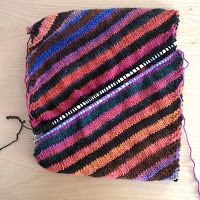 The Work is Getting to Me: Color Theory Cowl Pattern