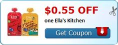 New Coupon!  $0.55 off one Ella's Kitchen - http://www.stacyssavings.com/new-coupon-0-55-off-one-ellas-kitchen/