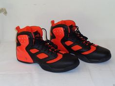 a64c85473a58 Reebok Custom ATR Above The Rim RBK Black   Orange Size 15.5 Shoes SNEAKERS  for sale online