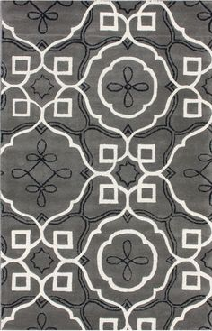 Rugs USA.com:  Satara Moroccan Inspire Grey Rug
