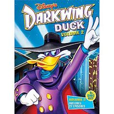 Disney Darkwing Duck Volume 2 DVD | Disney StoreDarkwing Duck Volume 2 DVD - Everyone's favorite feather-brained crime fighter, Darkwing Duck, returns to keep the streets of St. Canard safe from the weirdest, wackiest flock of criminals ever assembled.