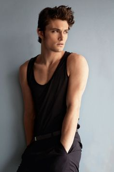 The Darkling~ shadow and bone.  Handsome & mysterious looking...  <3 Shiloh Fernandez...he looks great in Black ;)