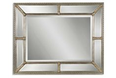 Candelaria Oversize Mirror,  Champagne