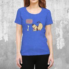 Dogasan Female Blue T-Shirt