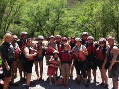 Muddy Family after A muddy raft adventure on the Colorado River! #AboutTimeMemories @About Time #AboutTime