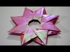 Origami Robin Star (Maria Sinayskaya) Video Tutorial by Jo Nakashima