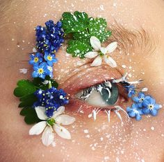 """2,240 Likes, 18 Comments - • Ellie Costello • (@makeupisart_x) on Instagram: """" A World of Flowers Is A Happy One • I'm so glad you all loved my festival look I posted a…"""""""
